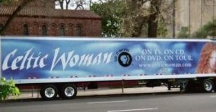 Ad on a Trailer