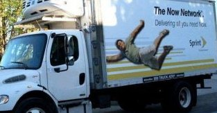 Truckside Advertising on a Truck