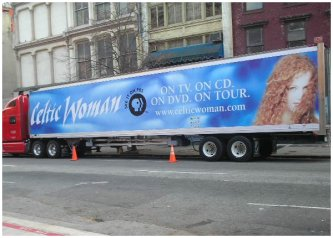 Celtic Woman TRUCKADS® Campaign