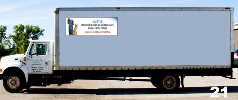 Truck Side Logo Ad