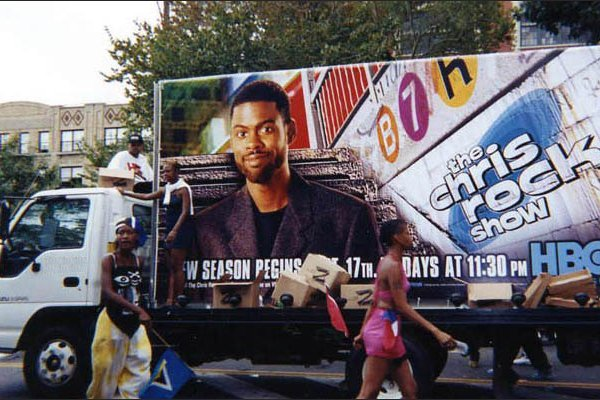 Mobile Billboard Truck with Ad