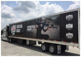 Lucas Oil Ad on a Truck
