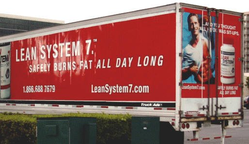 Isatori Truck Advertisement