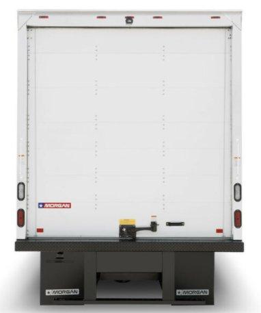 Truck Side Advertising Back Door