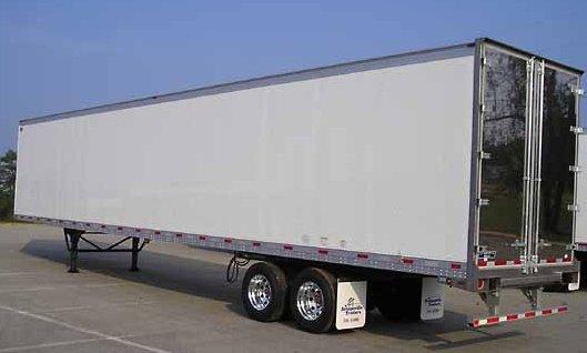 Truck Side Advertising Trailer