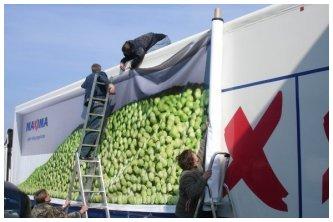 Banner Installation on Truck