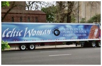 Celtic Woman Truck Side Ad - Baltimore, MD